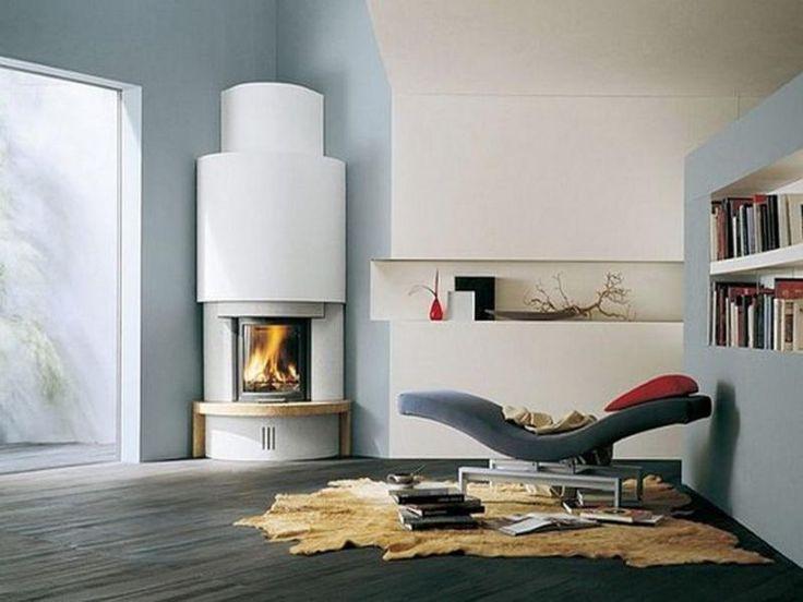 22 Ultra Modern Corner Fireplace Design Ideas: Best 25+ Modern Stone Fireplace Ideas On Pinterest