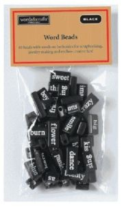 Poetry beads