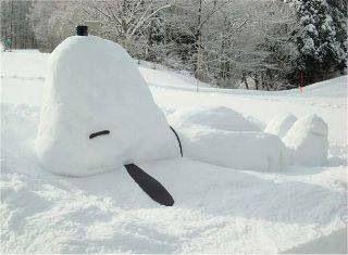 Sneeuwpop Snoopy