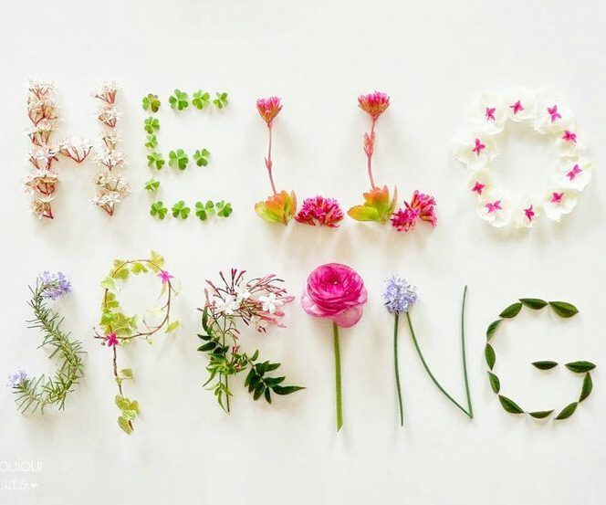 Happy first day of Spring! <3<3<3