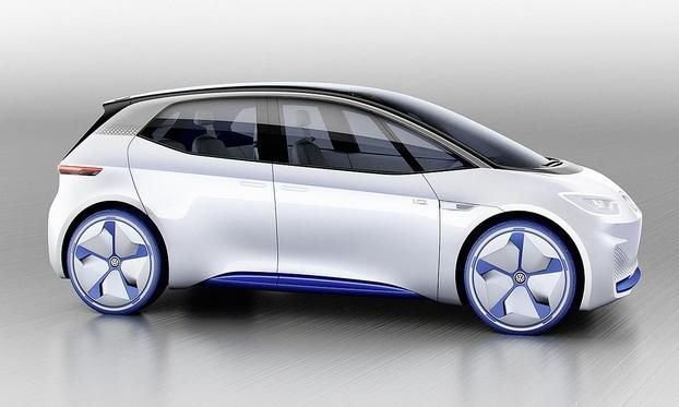 VW previews long-range electric car