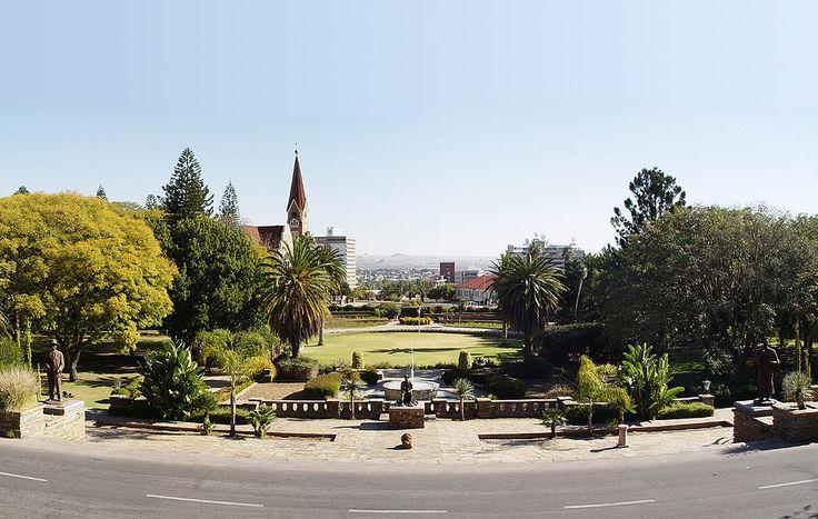 Parlamentsgärten, Windhoek - Christuskirche (Windhoek) – Wikipedia