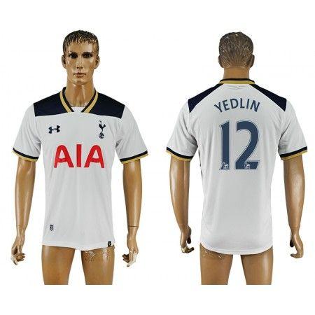 Tottenham Hotspurs 16-17 #Yedlin 12 Hjemmebanetrøje Kort ærmer,208,58KR,shirtshopservice@gmail.com