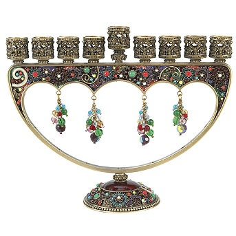 Beautiful Hanukkah Menorah