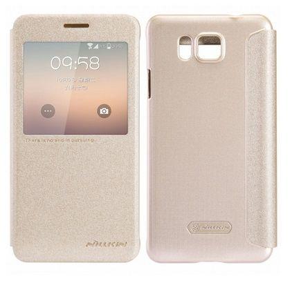 Nillkin S View Smart Case Preview - Χρυσό Sparkle (Samsung Galaxy Alpha G850F) - myThiki.gr - Θήκες Κινητών-Αξεσουάρ για Smartphones και Tablets - Χρώμα Χρυσό Sparkle