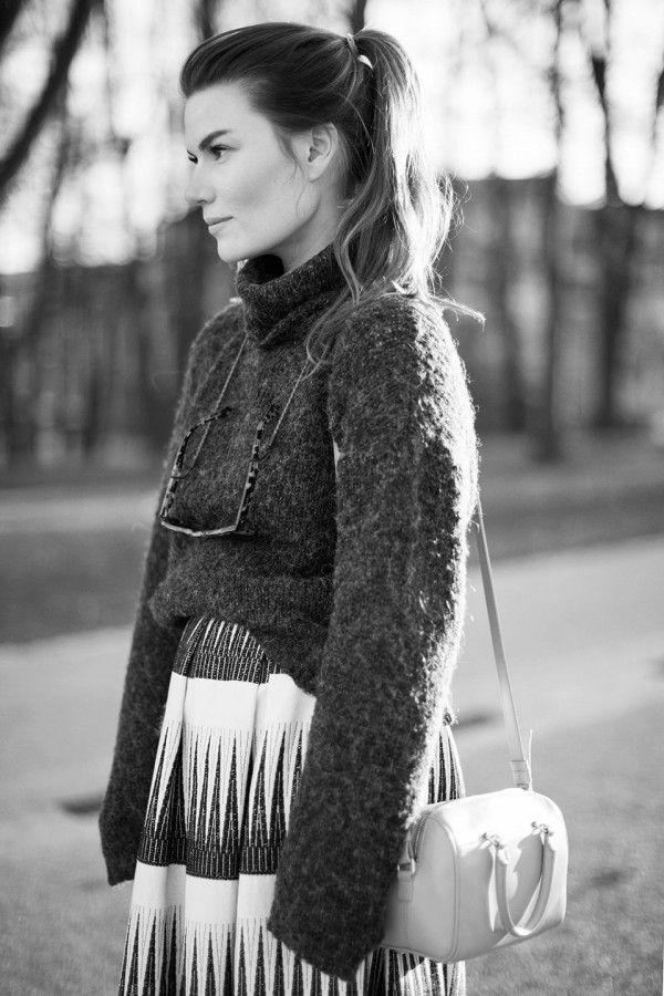 fall outfit, intodust viktoria, viktoria reier, just female, saint laurent
