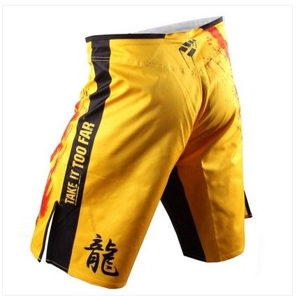 Dragon fight Shorts MMA shorts Muay Thai trunks mma fight short kick boxing shorts