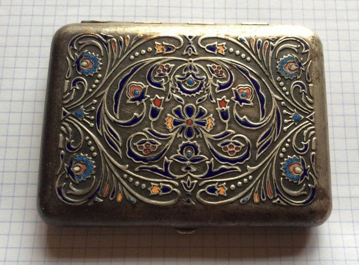 Russian Antiques cigarette case 300 years reunification Ukraine and Russia