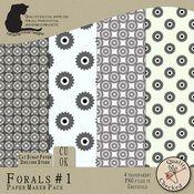 Florals #1 Paper Maker Pack $4.00