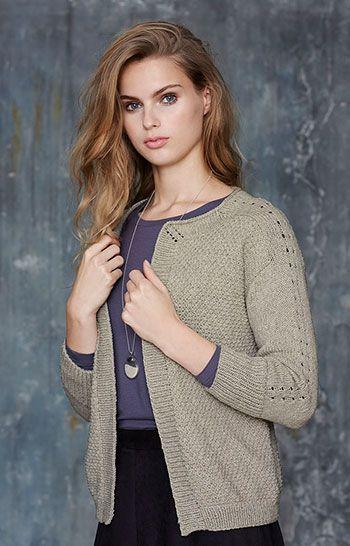 Garn heavy cotton wool natur melange - Stof & Stil