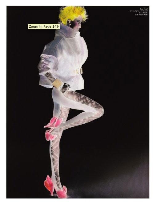 charlotte stockdale for V magazine