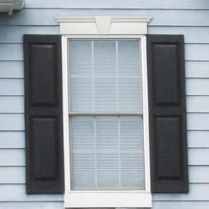 Builders Edge 6 in. x 37-5/8 in. Flat Panel Window Header with Keystone in 028 Forest Green 060010637028 at The Home Depot - Mobile