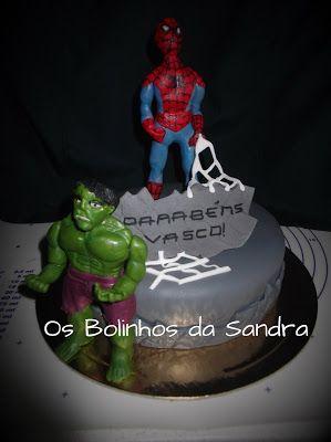 Os Bolinhos da Sandra: Super Heróis