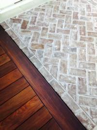 Savannah Grey Bricks for Interior Flooring
