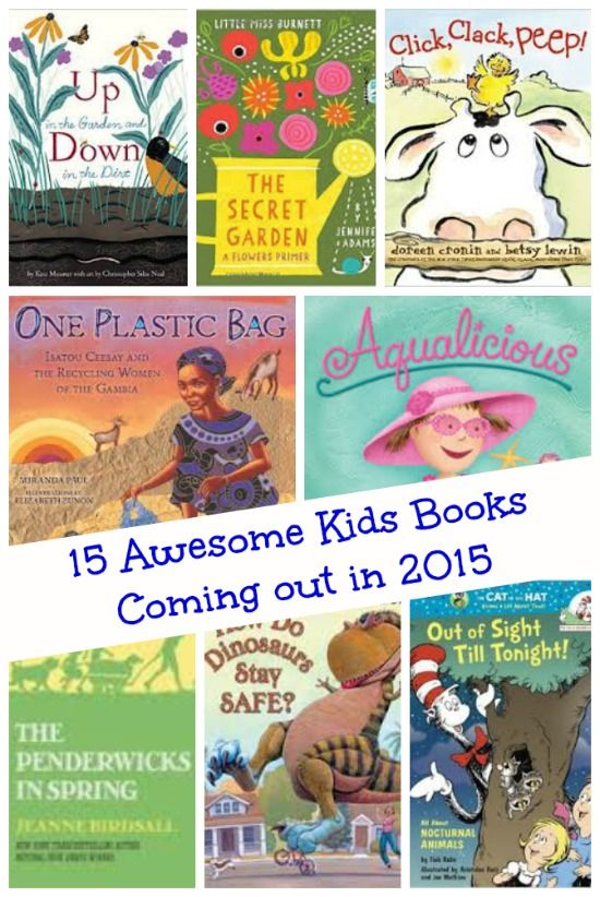 Enjoy a 'sneak peek' into some of the wonderful books being released for this year!