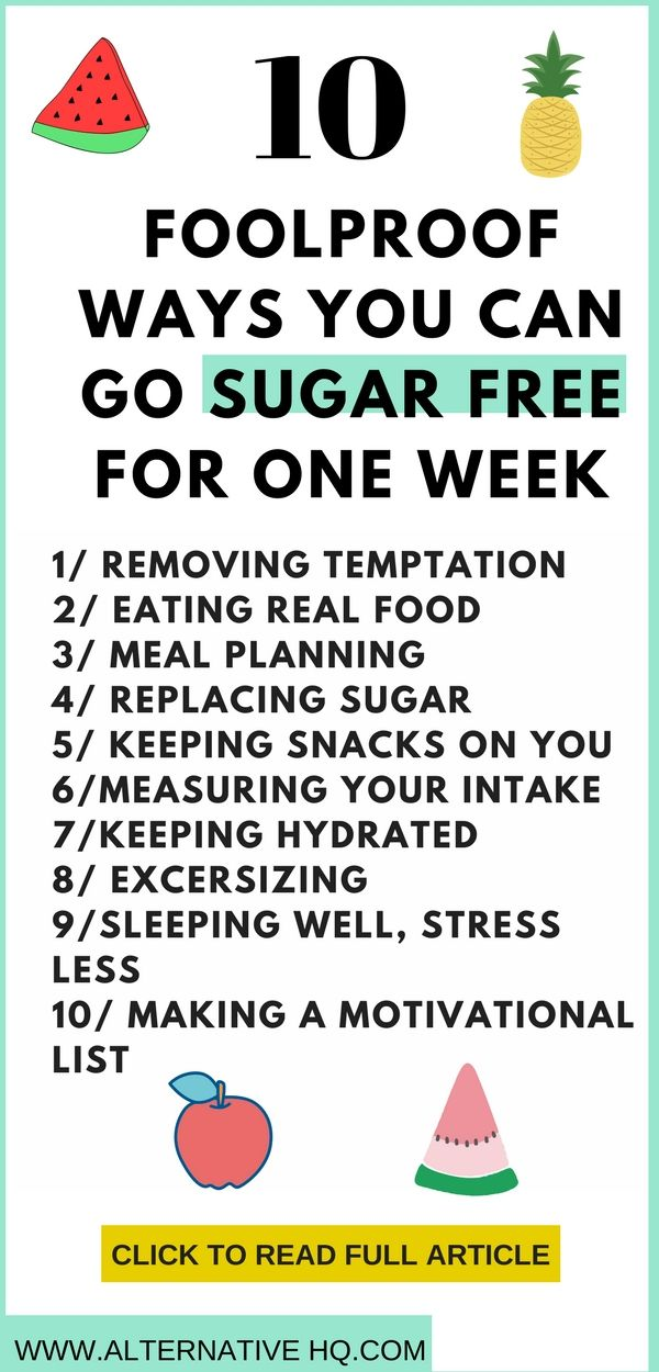 Go Sugar Free For One Week 10 Foolproof Ways Health And