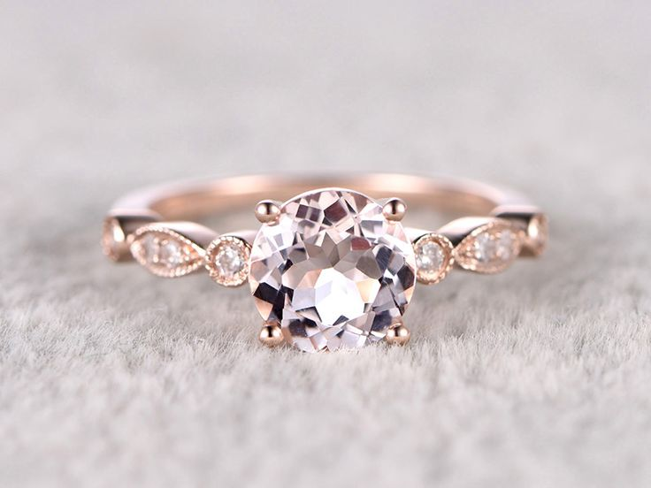 Morganite Engagement Rings Under $500