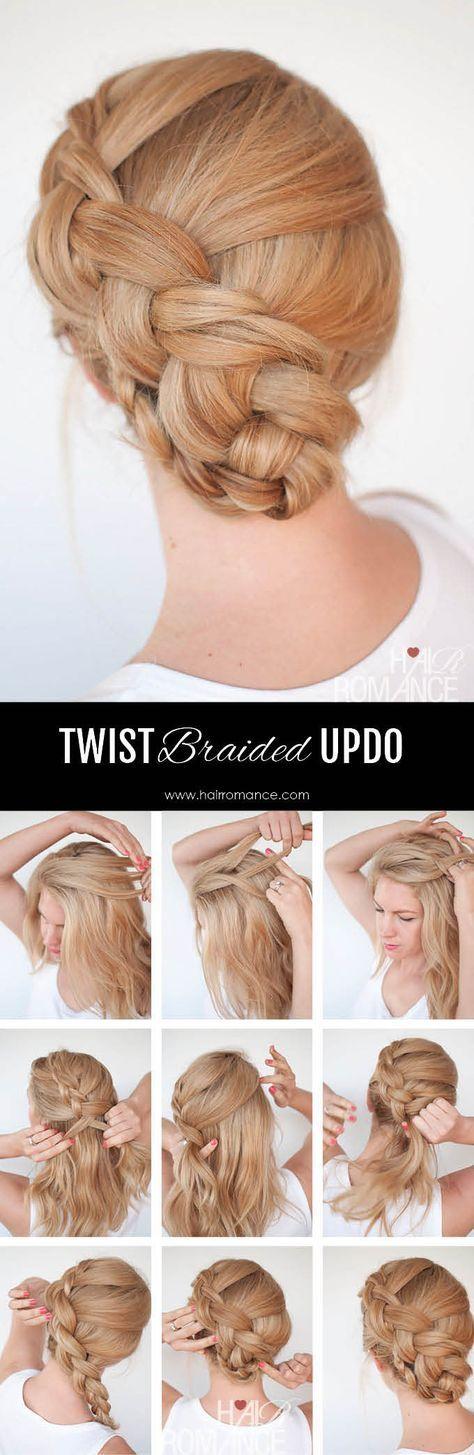 Hair Romance - Twist braid hairstyle tutorial 5