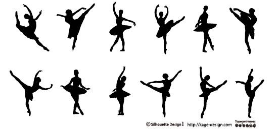 ballet silhouette images - Google Search