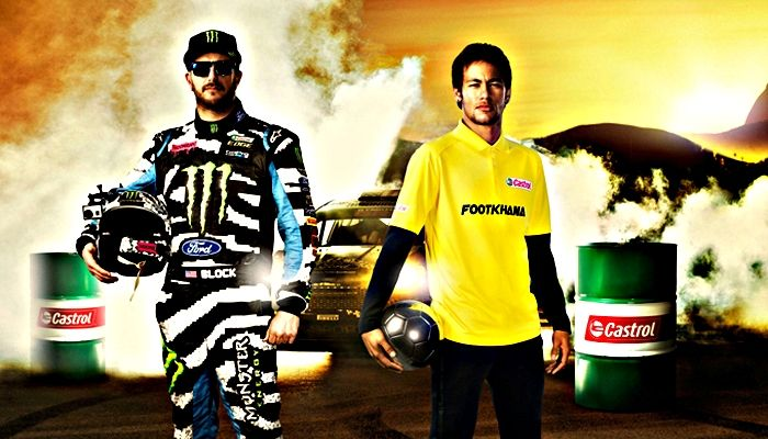Neymar vs Ken Block: Footkhana, uno spot 'mondiale' (VIDEO)