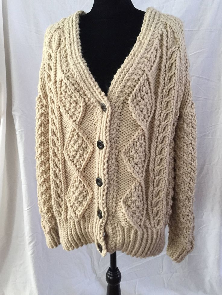 A personal favorite from my Etsy shop https://www.etsy.com/ca/listing/592536455/ladies-cardigan