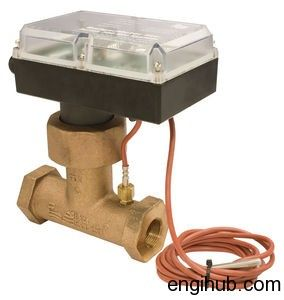 Flow switch (LCWFS) should preferably be mounted in a horizontal section of cooling water pipe.There is a straight horizontal of five pipe diameters