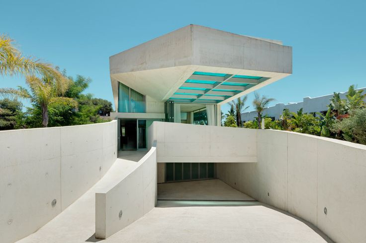 Jellyfish House, Marbella, Spain, by WIel Arets Architects