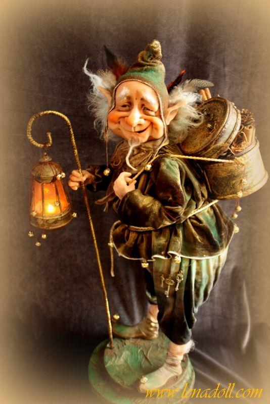 волшебные сказочные тролли и гномы открытки гифки исторически
