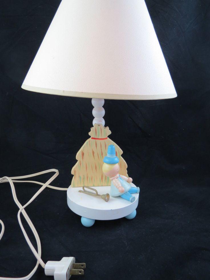 nursery lamp baby nursery lamp little boy blue nursery lamp nursery. Black Bedroom Furniture Sets. Home Design Ideas