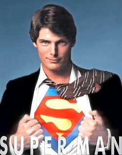 There is nothing better than the original superman Christopher Reeve is absolutely gorgeous man!!...Love him!!....:)