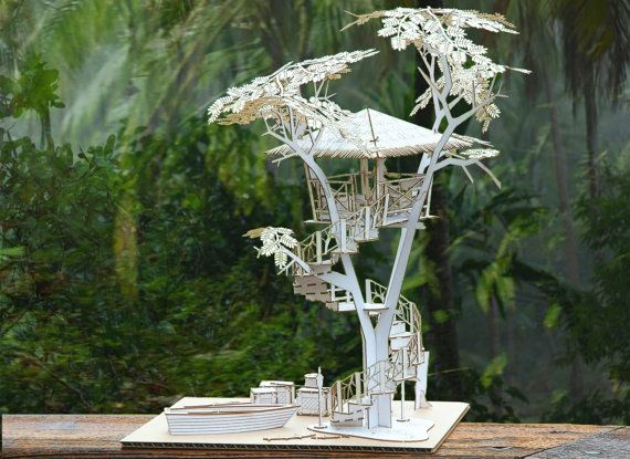 215 Best Images About Thomas Houha Designs Tiki Treehouse