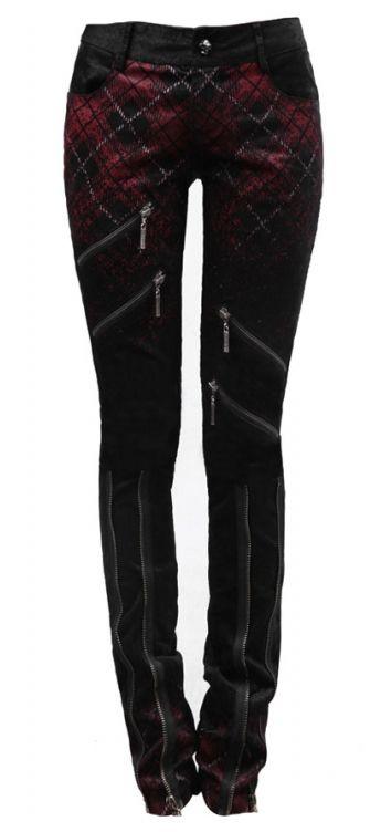Punk Rave Social Distortion Trousers