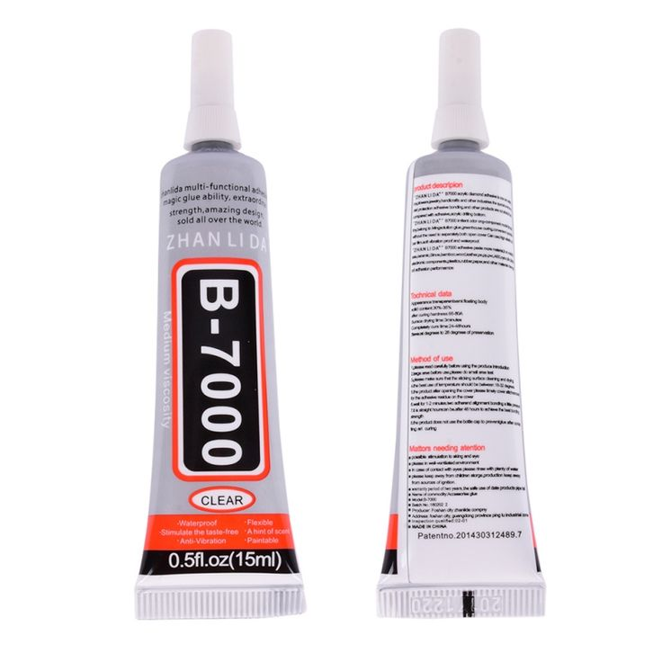 15ml B7000 Glue Adhesives Multi-purpose For DIY Jewelry Touch Screen Cell Phone Crafts Glass Jewelry Epoxy Resin Repair Tools #Affiliate