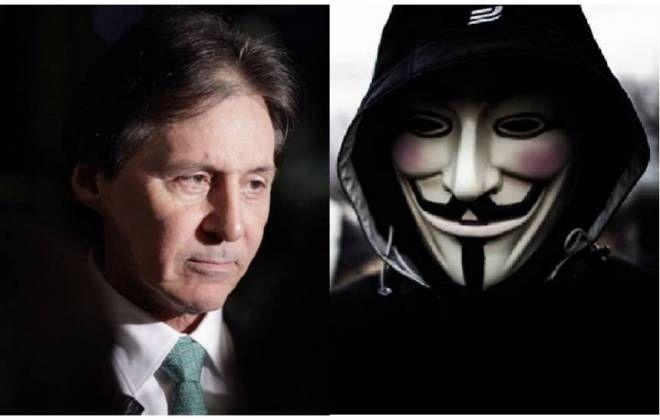 Anonymous derruba site e expõe dados do presidente do Senado