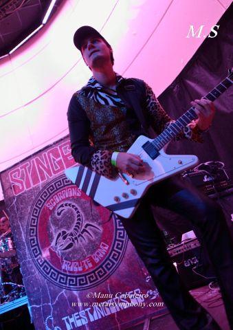 Stingers 5 Uli Jon Roth + Stingers – 30 de Octubre13 – Sala Shôko – Madrid