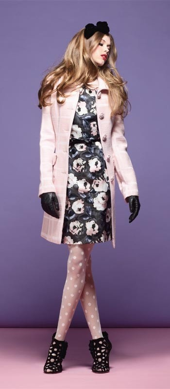 The gorgeous Alannah Hill 'Darkest Shadows' coat - just beautiful