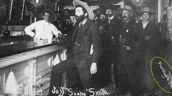 Infamous Soapy Smith in Saloon