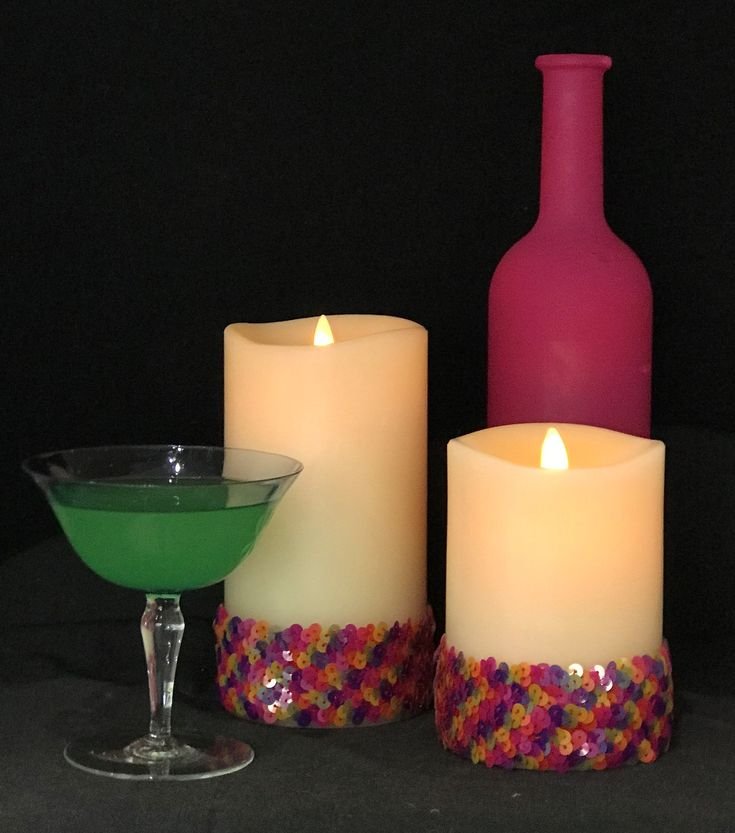 Our LED flameless, flickering candles have to be seen to be believed.  They are elegant, safe and practical.  See www.gracedecor.co.za for more details