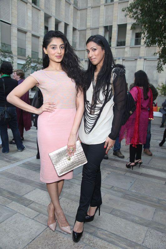 Pernia Qureshi & Aishwarya Nair