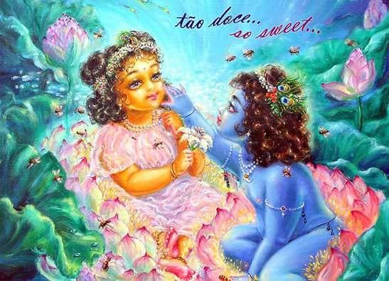 Sweet Love  Hare Krishna