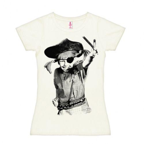 Pippi piraat shirt dames