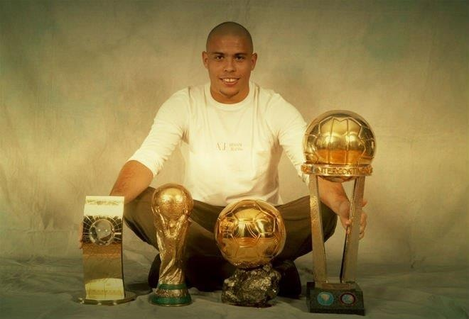 The Brazilian Legend, Ronaldo Nazario Dealima! #RESPECT