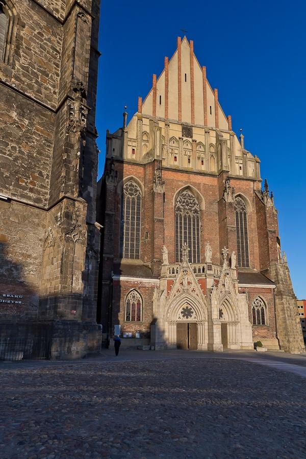 Basilica in Nysa, Poland
