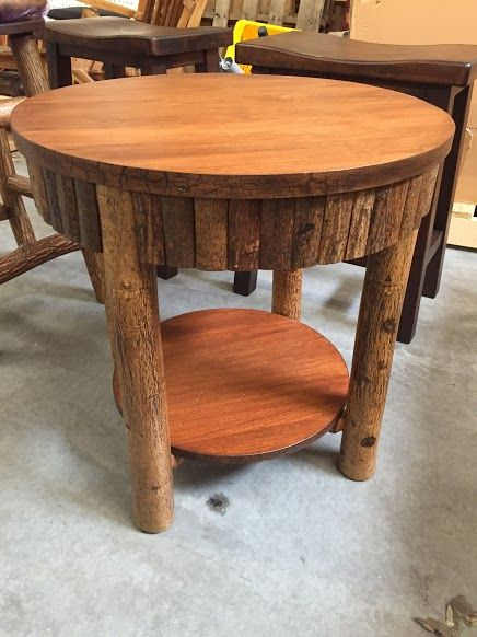 Hickory Table  versatile and affordable handmade furniture  This side  table s simple and rustic look. 20 best Kelly Barn Furniture Pieces images on Pinterest