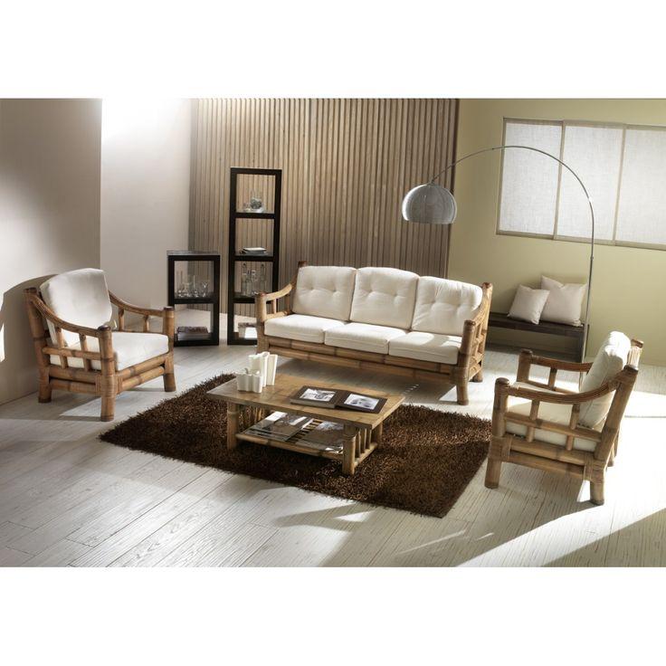 Divano Kona Diavano bamboo mobili etnici e arredamento