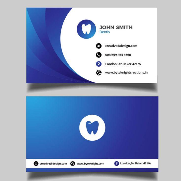 72 best Visiting Card Designs - byteknightdesign.net images on ...