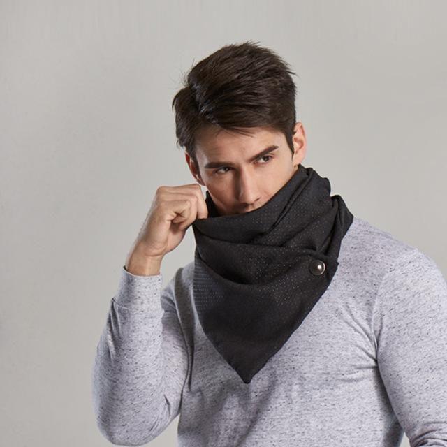 "High Quality Men's Winter Ring Scarf / Bandana  Size:  140 cm x 30 cm (4ft 7.1"" x 11.8"")  Material : Cotton"