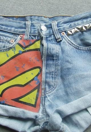 Custom 90's Levi's - Superman from DemDemxx