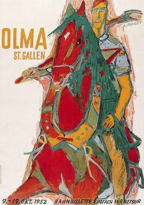 Alois Carigiet - Olma St. Gallen 1952