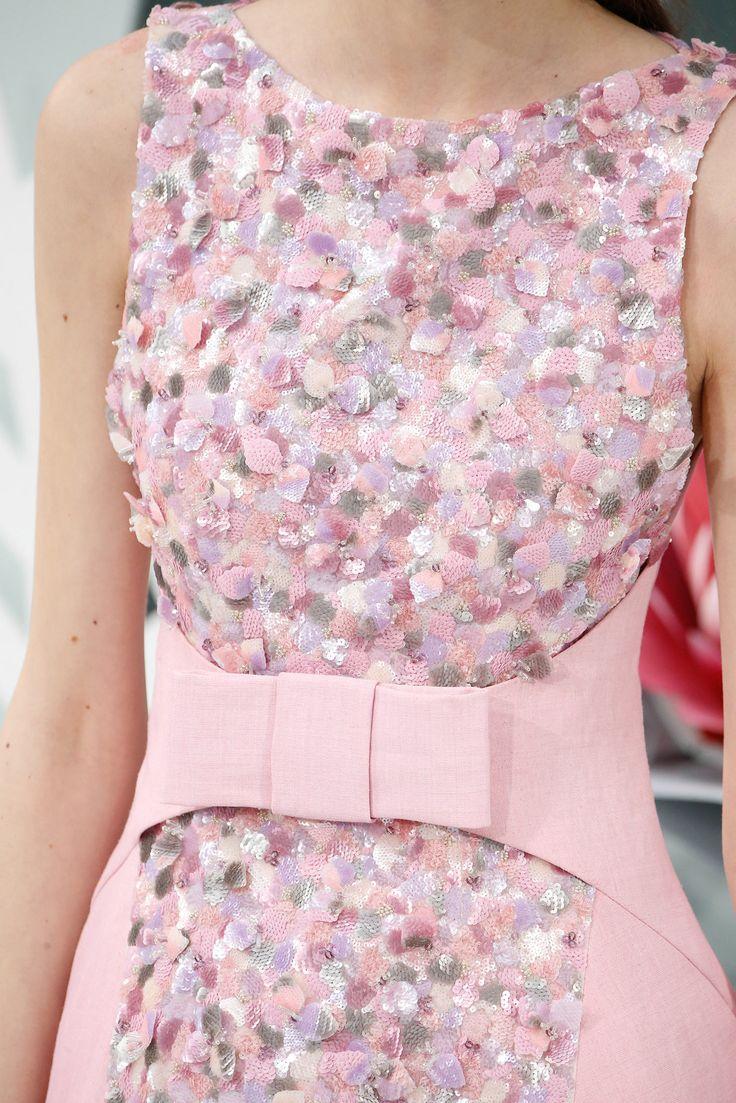 Chanel Spring Summer 2015 haute couture détail